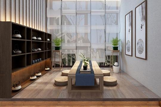 怎样在阳台布置出一个好看的小茶室?