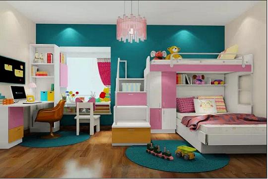 小朋友喜欢的装修风格,儿童房设计方案