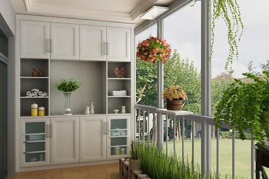 家居装修 庭院阳台家具搭配 别让你的阳台闲着